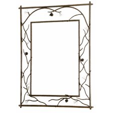 Pine Branched Large Wall Mirror