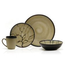 Gourmet Basics Anissa 16 Piece Dinnerware Set