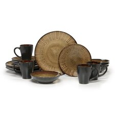 Gourmet Basics Linden 16 Piece Dinnerware Set