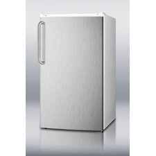 <strong>Summit Appliance</strong> Refrigerator Freezer with Crisper Cover Glass Type