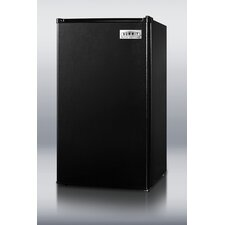 "35.5"" x 18.75"" Refrigerator Freezer in Black"