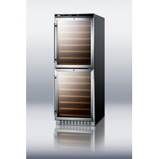 108 Bottle Dual Zone Wine Refrigerator