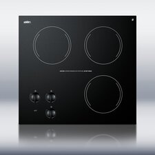 "20.63"" Electric Cooktop"