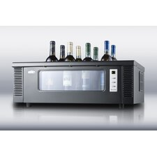 <strong>Summit Appliance</strong> 8-BottleThermoelectric Wine Chiller for Countertop Use