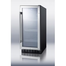 "<strong>Summit Appliance</strong> 15"" Wide Glass Door Beverage Cooler"