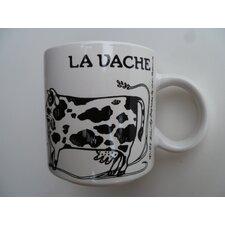 "Vintage French La Vache ""Cow"" 11 oz. Mug"