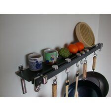 <strong>Taylor & Ng</strong> Track Rack Wall Pot Rack