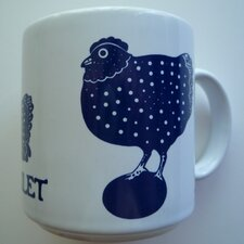 Vintage French 11 oz. Le Poulet (Chicken) Mug