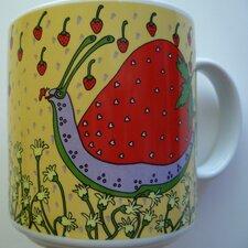 Classy Critter 11 oz. Strawberry Snail Mug