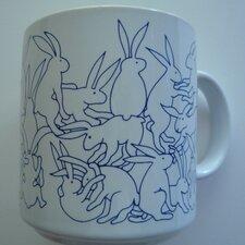 Animates 11 oz. Daytime Rabbits Mug