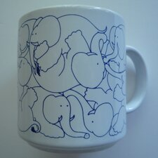 Animates 11 oz. Daytime Elephants Mug