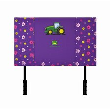 <strong>Kidz World</strong> Girl's Twin Upholstered Headboard