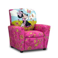 <strong>Kidz World</strong> Disney Kids Minnie Mouse Cuddly Cuties Recliner