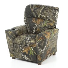 <strong>Kidz World</strong> Mossy Oak Camouflage Children's Recliner