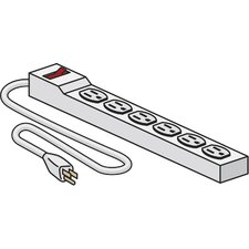 6 Outlet Surge Protected Power Strip