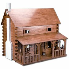 Creekside Cabin Dollhouse Kit