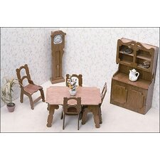 <strong>Greenleaf Dollhouses</strong> Dining Room Furniture Kit