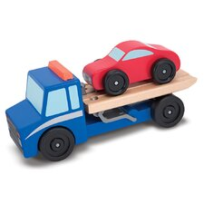 <strong>Melissa and Doug</strong> Flatbed Tow Truck