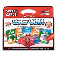 Water Wow! Alphabet Splash Card
