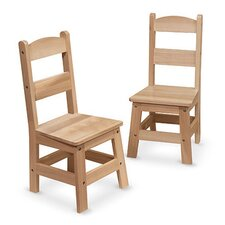 "11"" Wooden Classroom Chair (Set of 2)"