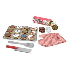 34 Piece Cookie Baking Play Set