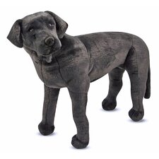 <strong>Melissa and Doug</strong> Large Black Lab Plush Stuffed Animal