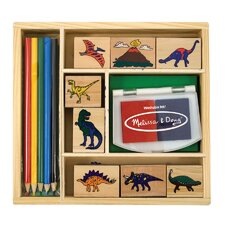 <strong>Melissa and Doug</strong> Dinosaur Stamp Set