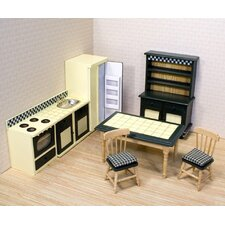 <strong>Melissa and Doug</strong> Dollhouse Kitchen Furniture