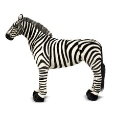 <strong>Melissa and Doug</strong> Zebra Plush Stuffed Animal