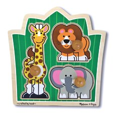 <strong>Melissa and Doug</strong> Jungle Friends Wooden Puzzle