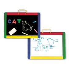 <strong>Melissa and Doug</strong> Magnetic Chalkboard/Dry Erase Board