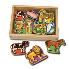 Magnetic Animals in a Box