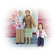 <strong>Melissa and Doug</strong> Family Doll Set