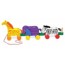 <strong>Melissa and Doug</strong> Pull-Along Zoo Animals