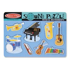 <strong>Melissa and Doug</strong> Musical Instruments Sound Puzzle