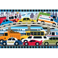 <strong>Melissa and Doug</strong> Traffic Jam Floor Puzzle