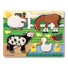 <strong>Melissa and Doug</strong> Farm Touch and Feel Puzzle