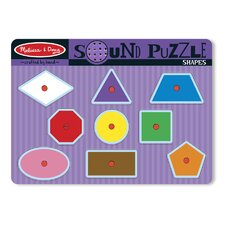<strong>Melissa and Doug</strong> Shapes Sound Puzzle