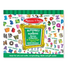 <strong>Melissa and Doug</strong> Sticker Collection Alphabet and Numbers