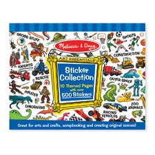 <strong>Melissa and Doug</strong> Sticker Collection in Blue