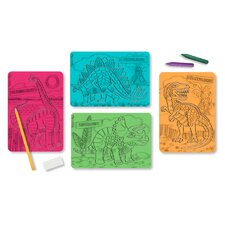 <strong>Melissa and Doug</strong> Textured Stencils Dinosaurs