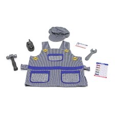 <strong>Melissa and Doug</strong> Train Engineer Role Play Costume Set