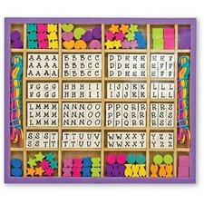 <strong>Melissa and Doug</strong> Wood Stringing Bead Craft Set