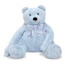 <strong>Melissa and Doug</strong> Jumbo Blue Teddy Bear