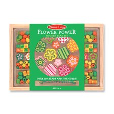 <strong>Melissa and Doug</strong> Flower Power Bead Set