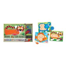<strong>Melissa and Doug</strong> Animal Pattern Blocks