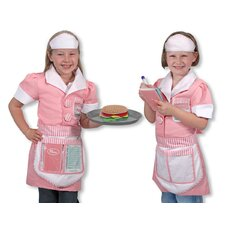<strong>Melissa and Doug</strong> Waitress Role Play Costume