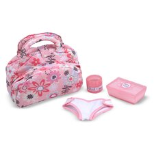 <strong>Melissa and Doug</strong> Doll Diaper Changing Set