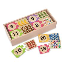 <strong>Melissa and Doug</strong> Self-Correcting Number Puzzle