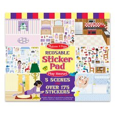 <strong>Melissa and Doug</strong> Play House! Reusable Sticker Pad